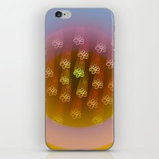 Floral Rain iPhone & iPod Skin
