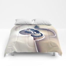 Geometric Art - PURE LOVE Comforters