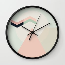 I Dream In Pink Wall Clock
