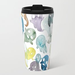 Happy Ghosts Travel Mug