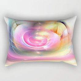 Batic Style Rectangular Pillow