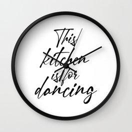 Kitchen decor Wall Clock