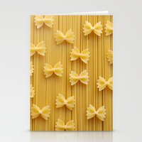 pasta Stationery Cards featuring Pasta  by Ylenia Pizzetti