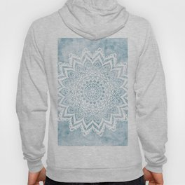 LIGHT BLUE MANDALA SAVANAH Hoody