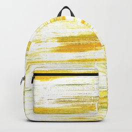 Lotion abstract watercolor Backpack