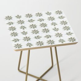 Peacock Plumes & Medallions Side Table