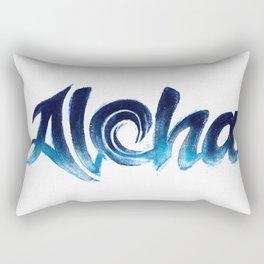 Wave Aloha Rectangular Pillow
