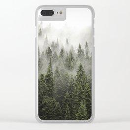 Porcupine ridge (clarity) Clear iPhone Case