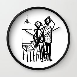 My friends artists Wall Clock