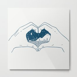 Love Nature Metal Print