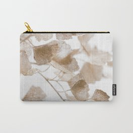 Golden Sparkle glitter branch Carry-All Pouch