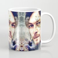 daryl Mugs featuring Daryl Dixon by András Récze
