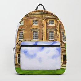 Castle Ward, Ireland. (Painting) Backpack
