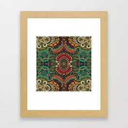 Boho pattern II Framed Art Print