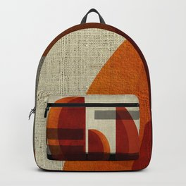"""Abstract Ships at Sunset"" Backpack"