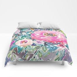 Wild Peony Floral Comforters