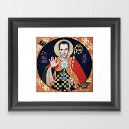 Saint Nicolas of Cage Framed Art Print