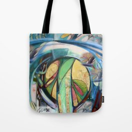 Peace Treaty Mandala Tote Bag