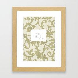 Home Work Framed Art Print