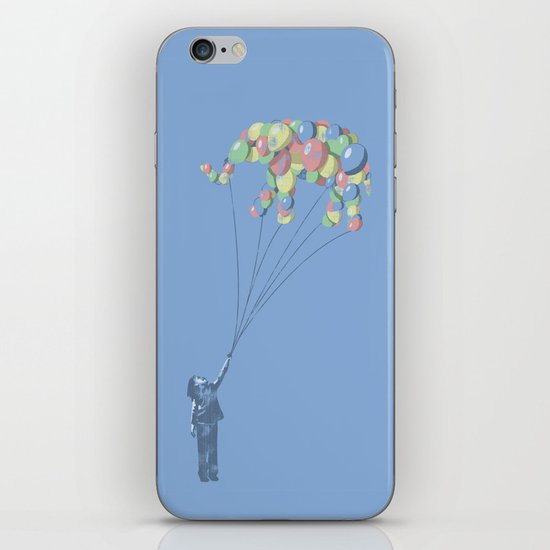 Elephants Can Fly iPhone & iPod Skin