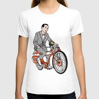 pee wee T-shirts featuring Pee Wee Herman by Michael Scarano