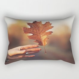 Catching a bit of Autumn Rectangular Pillow