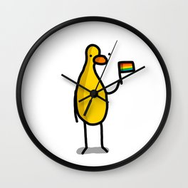 This Duck is Proud | Veronica Nagorny Wall Clock