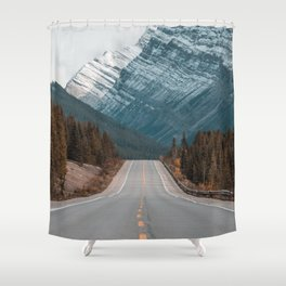 Road to the Mountain Shower Curtain