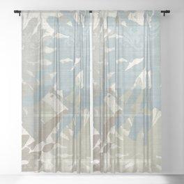 Beach Curry III Sheer Curtain