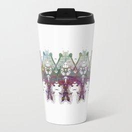 Inknograph XXIII - Rorschach Art Metal Travel Mug