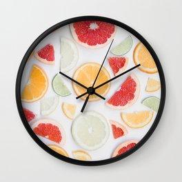 citrus fresh Wall Clock