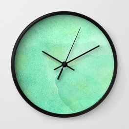 Abstract Jade Waters  Wall Clock