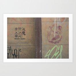 nobody wins (Bogotá) Art Print