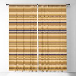 Ancient Minoan Stone Stripes Blackout Curtain