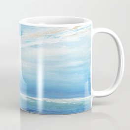 Italianmarinepainter: seascape for my first scarf , landscape , vision of sea, my abstract seascape Coffee Mug