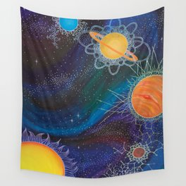 Spacial Relations Wall Tapestry