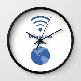 Wifi and the World Wall Clock