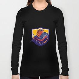 Bear Tireman Crest Long Sleeve T-shirt