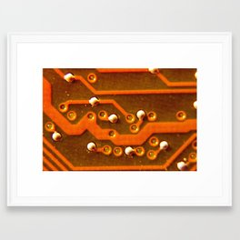 Macro Trace Framed Art Print