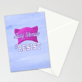 Nasty Woman #RESIST Stationery Cards