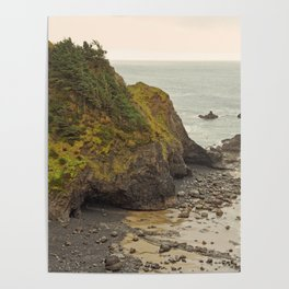 Ecola Point, Oregon Coast, hiking, adventure photography, Northwest Landscape Poster