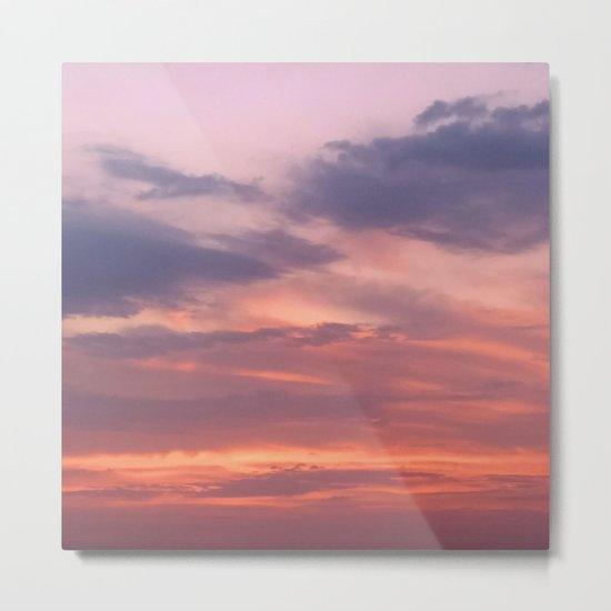 Painting Sky Metal Print
