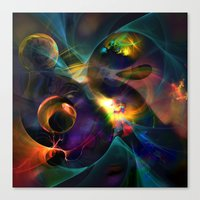 universe Canvas Prints featuring Universe by Robin Curtiss