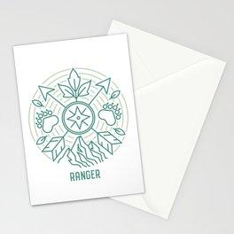 Ranger Emblem Stationery Cards