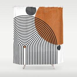 Modern Mid Century Shower Curtain