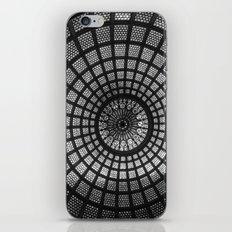 Tiffany Glass Dome Black/White Photography iPhone & iPod Skin