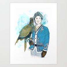 Wisdom 2 Art Print