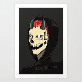 Demon's smile Art Print