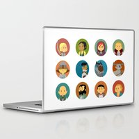 dragon age inquisition Laptop & iPad Skins featuring Cute Inquisition by Panda