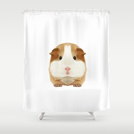 Guinea Pig I Love My Rodent Wheek Gift Idea Shower Curtain